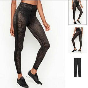 Vs sheer leopard leggings